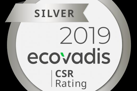 ecovadis silver 2019