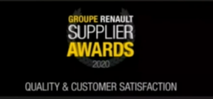 CIKAUTXO Slovakia honoured with the Supplier Award from Renault for Quality and Customer Satisfaction